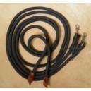Split rope reins